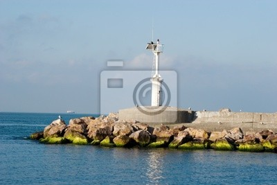 A smaill lighthouse for sea traffic