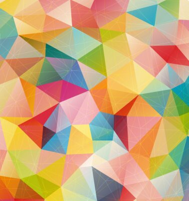 Canvas print abstract background