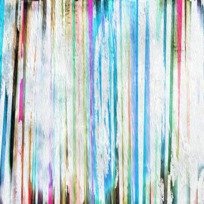 Canvas print abstract background design on wood grain texture