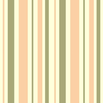 Canvas print abstract background texture with pastel warm stripe seamless vector pattern