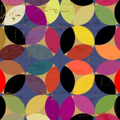 Canvas print abstract circle pattern