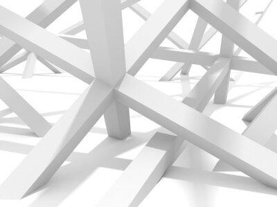Canvas print Abstract Futuristic Architecture Element Design Background