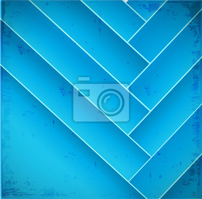Abstract geometry blue background