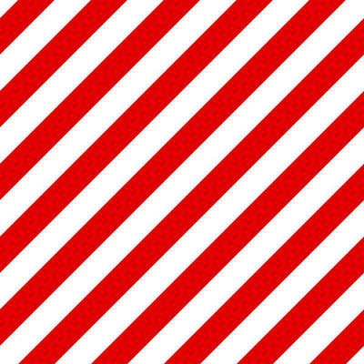 Canvas print Abstract Seamless diagonal striped pattern with red and white st