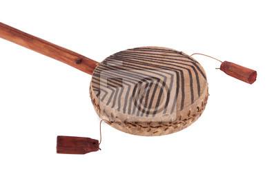 African ethnic handmade drum