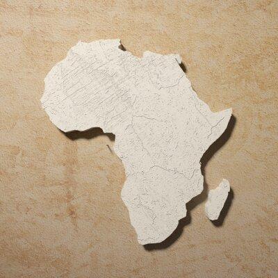 Canvas print afrika