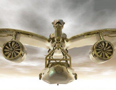Canvas print aircraft