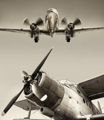 Canvas print airplane