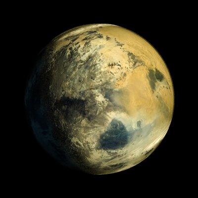 Canvas print Alien Exo Planet