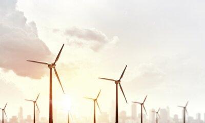 Canvas print Alternative wind energy