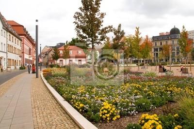 Am Hirschgarten in Erfurt