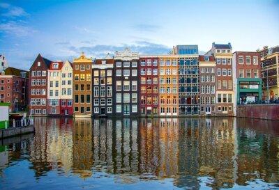 Canvas print Amsterdam, Netherlands