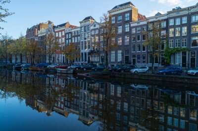 Canvas print Amsterdamer GRacht