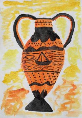 Canvas print Antique vase