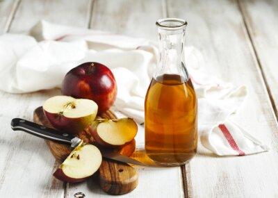 Canvas print Apple vinegar