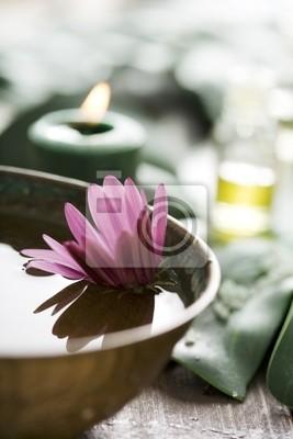 aromatherapy setup