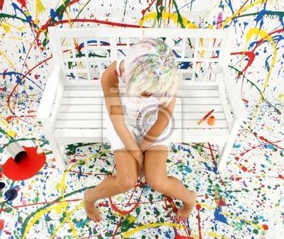 Canvas print Artist