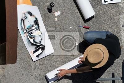 Canvas print artiste