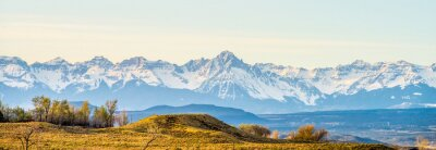 Canvas print at the foothills of colorado rockies