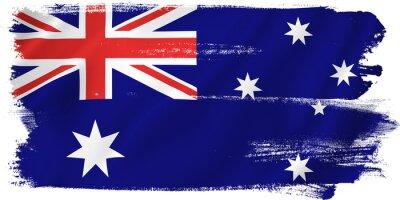 Canvas print Australia flag