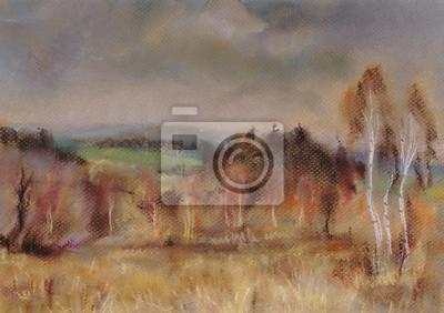 Canvas print Autumn landscape