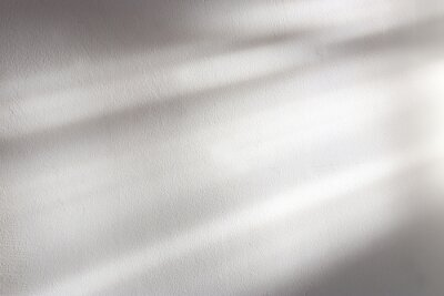 Canvas print background of organic shadow over white textured wall