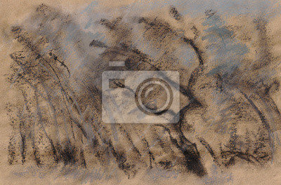 Canvas print Bad Weather