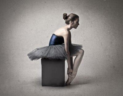 Canvas print Ballerina
