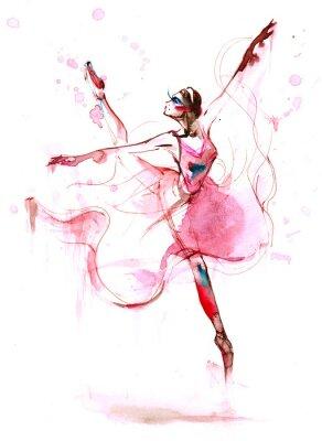 Canvas print ballet