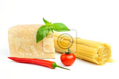 Basic Ingredients for spaghetti