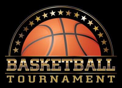 Canvas print Basketball Tournament