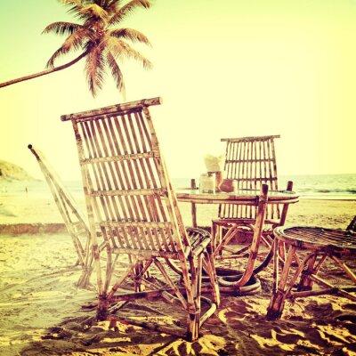 Canvas print beach-39