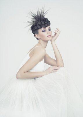 Canvas print Beautiful ballerina