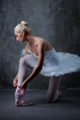 Canvas print Beautiful ballet dancer