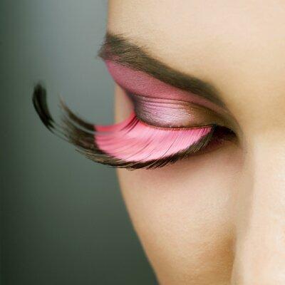 Canvas print Beautiful Fashion Holiday Makeup
