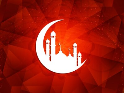 Canvas print Beautiful Islamic background.