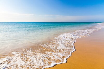 Canvas print Beautiful ocean beach