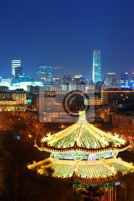 Beijing at night