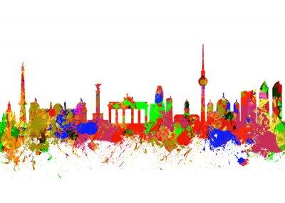 Canvas print Berlin Brandenburg Gate