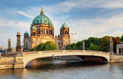 Canvas print Berlin cathedral, Berliner Dom