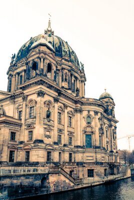 Canvas print Berlin Cathedral Church