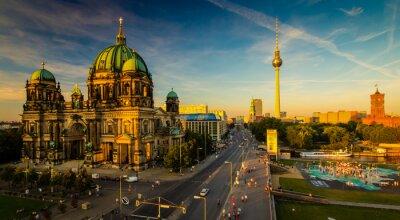 Canvas print Berlin - city view