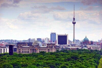 Canvas print berlin cityscape