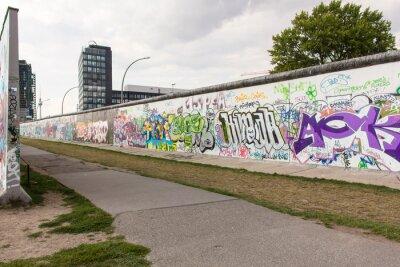 Canvas print Berlino - East Side Gallery