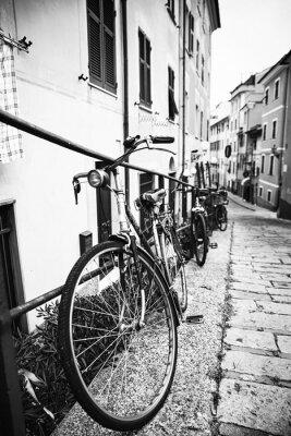 Canvas print Biciclette nel vicolo