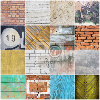 Big collection of texture backgrounds