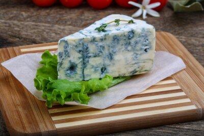 Canvas print Blue cheese