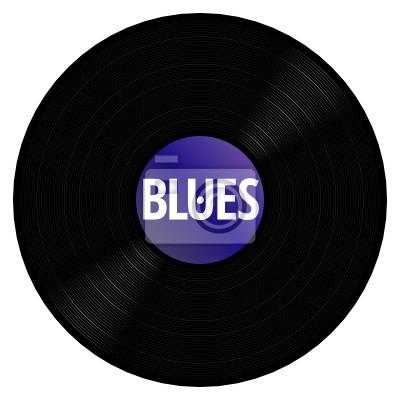 Canvas print Blues