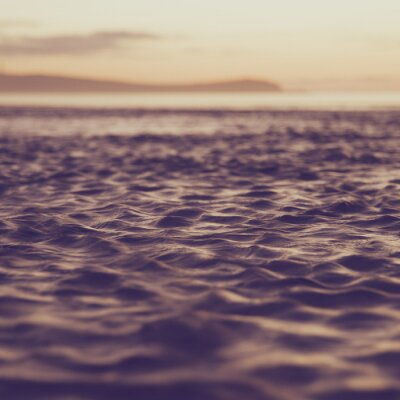 Canvas print Blur water vintage tone