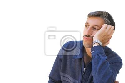 bored man